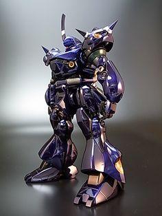 Painted Build: MG Kampfer Chrome - Gundam Flauros, Gundam Wing, Gundam Astray, Gundam Custom Build, Man Of War, Model Hobbies, Gunpla Custom, Anime Japan, Gundam Model