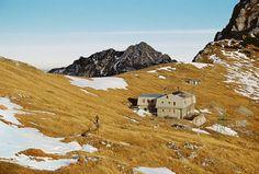 I am a dreamer — cabinporn:   Kamnik Lodge at Kamnik Saddle,...