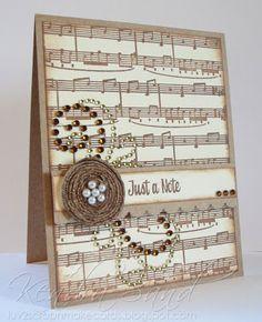 3 Girl Jam Latte Crinkle Ribbon; Inspired By Stamping Background Basics III, Mason Jar Add On II