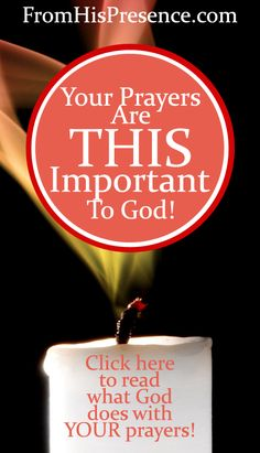 Have you ever read what #God does with your #prayers in #Heaven? Read this blog post to find out! Your prayers are THIS important to God! #Christian #prayer