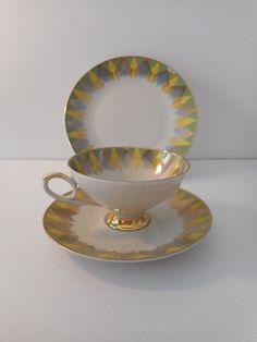 Vintage Teacup 3 Piece Set- Mitterteich 1960s - #01 | eBay 1960s House, Teacup, 3 Piece, Tableware, Vintage, Ebay, Cup Of Tea, Dinnerware, Tea Cup