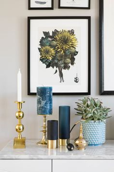 Seks stoler ble til ny førsteetasje - Byggmakker+ Decor, Home Accessories, Living Spaces, Gallery Wall, Wall, Home Decor, Sideboard Styles, Inspiration, Frame