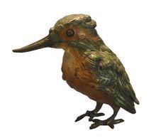 Superb Signed Antique Vienna Bronze Sculpture of a Bird