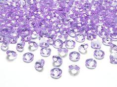 Diamentowe konfetti, lawenda