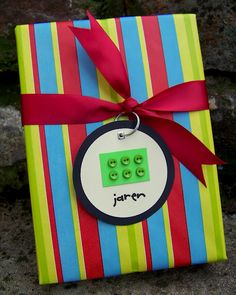 For a fun and decorative touch, add buttons to your gift tags.