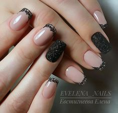 55 Best & Simple Nail Art Designs for 2019 Lady images 4 Lace Nail Design, Lace Nail Art, Lace Nails, Christmas Nail Designs, Christmas Nails, Hair And Nails, My Nails, Simple Nail Art Designs, Instagram Nails