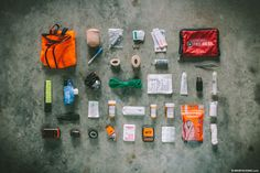 What essentials belong in a first aid kit for backcountry bikepacking? What about a kit for an international dirt tour? Find out from our resident nurse...