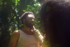 Donald Glover Channels Adam in SZA's Genesis-Evoking 'Garden' Music Video Watch