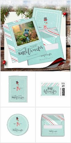 Magic and Wonder Christmas : a classy snowman collection where you will find everything you need to get ready for the Holidays . Designed by Array Stores . Happy Holidays, Christmas Holidays, Christmas Cards, Christmas Ornaments, Mint Green Background, Personalized Christmas Gifts, Potpourri, Beautiful Christmas, Favorite Holiday