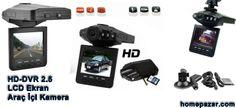 """HD-DVR 2.5"""" LCD Ekran Araç İçi Kamera homepazar.com"""