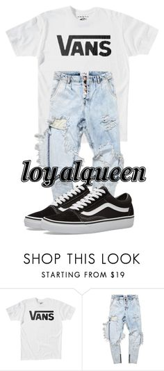 """""""Untitled #89"""" by loyalqueen ❤ liked on Polyvore featuring Vans and OneTeaspoon"""