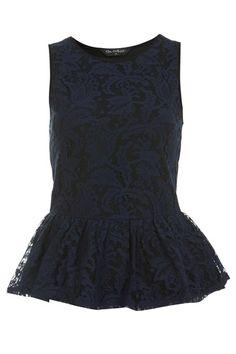 Why I love English High Street Fashion! (Lace Peplum Top - Miss Selfridges) Want it!