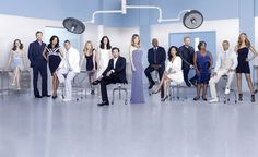 Grey's Anatomy. Because it's Grey's Anatomy.