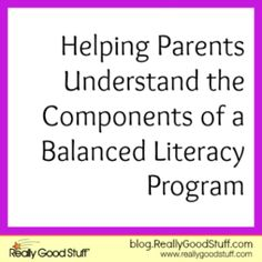 Literacy: A Comprehensive Literacy Approach