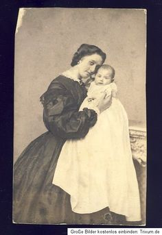 Sweet photo of a Mother and child.