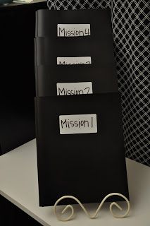"For the mystery, spy, or detective theme classroom - you could name each subject a different mission. Perhaps math is first in the day, so it would be ""Mission 1"". Reading comes next, so it would be ""mission 2"". Each subject could be it's own mission. What a fun way to build excitement and suspense into the day!"