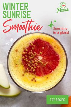 Smoothies are a great way to use pears that have been lingering in your fruit bowl a bit too long. Pear Smoothie, Juice Smoothie, Smoothie Bowl, Fruit Smoothies, Healthy Smoothies, Healthy Drinks, Smoothie Recipes, Healthy Snacks, Healthy Recipes