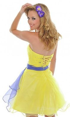 homecoming dress # {If i looked good in yellow}