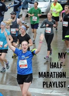 An eclectic half marathon playlist - a little something for everyone!