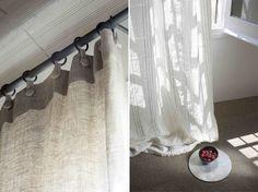 cortinas en lino