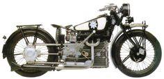 Windhoff Motorradwerke Berlin Typ Vierzylinder. Built 1928, 4-stroke 4 cylinder engine. 748 ccm, 22 PS, 200 kg, 129 km/h.