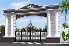 Front Gate Design, Main Gate Design, House Gate Design, Entrance Design, Fence Design, Door Design, Exterior Design, Compound Wall Gate Design, House Front Gate