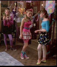 I love 80s fashions. They are very colorful and overall alot of fun. This is a picture from the movie 13 Going on 30, one of my favorite movies.