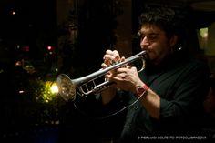 """Gianluca Carollo col suo Organ Trio al Cafè Tinto, mercoledì 14 novembre per """"Jazz at bar"""".    scatto di Pierluigi Golfetto per Fotoclub Padova."""