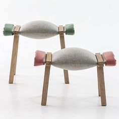 Sugar stool by Raw Edges for Moroso