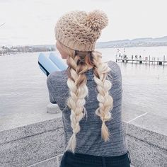 simplest and prettiest braid inspiration with Luxy Hair extensions