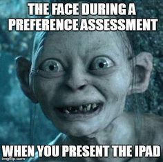 The ultimate reinforcer: The iPad!