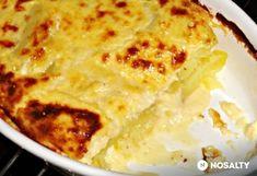 Sajtos-tejfölös burgonya Fruits And Veggies, Mashed Potatoes, Macaroni And Cheese, Goodies, Pizza, Yummy Food, Favorite Recipes, Sweets, Ethnic Recipes