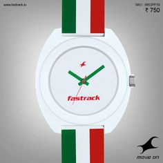 What will you do with yours? #Naughtees  #Fastrack #Tees #Green #White #Red #Stripes #Watch #Design #Fashion #Ribbed&Dotted