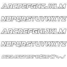 Liberty Island Outline Italic Font