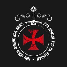 Knights Templar Symbols, Knights Templar Ring, Knights Hospitaller, Sword Tattoo, Armor Tattoo, Templar Knight Tattoo, Knights Of Honor, Silver Knight, Knight Logo