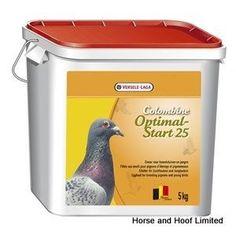 Versele Laga Colombine Optimal Start Pigeon Food 25 5kg Versele Laga Colombine Optimal Start 25 is a protein supplement in powder form for breeding.