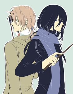 Remus Lupin and Severus Snape