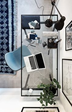 Glass Office Desk Pinterest - Wall Decor Ideas for Desk Check more at http://www.sewcraftyjenn.com/glass-office-desk-pinterest/