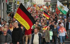 Support for anti-Muslim movement, Patriotic Europeans Against the Islamization of the West (PEGIDA), has been growing.