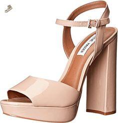 Steve Madden Women's Kierra Blush Patent Sandal 9.5 M - Steve madden pumps for women (*Amazon Partner-Link)