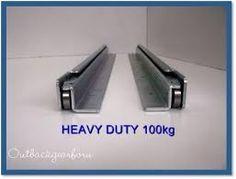 Image result for heavy duty drawer rails