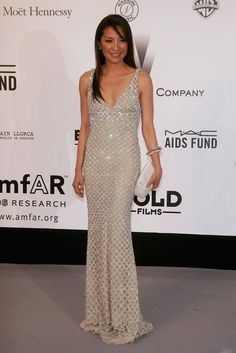 Michelle Yeoh at the amfAR Cinema Against AIDS Gala (2007)