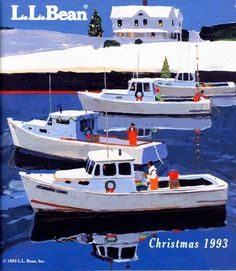 L.L.Bean Christmas 1993 - by Robert Cunningham