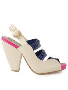 seychelles heels, i'm loving the punch of fuchsia