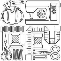 Sew Neat design (UTH6232) from UrbanThreads.com