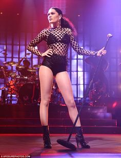 Jessie J. She slayed the stage at her latest iTunes festival performance!
