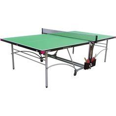 Butterfly Spirit 16 Indoor Rollaway Table Tennis Table - Green