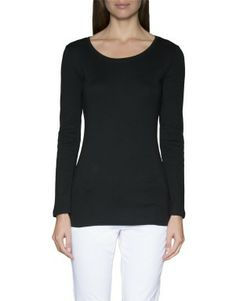Long Sleeve Cotton T-Shirt - Woolworths Blouse, Long Sleeve, Clothing, Sleeves, Cotton, T Shirt, Tops, Women, Fashion