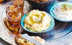 Hummus – kikhernetahna Best Party Appetizers, Appetizer Recipes, Tahini, Hummus, Mashed Potatoes, Ice Cream, Drinks, Ethnic Recipes, Desserts