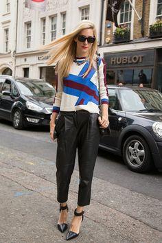London Fashion Week Street Style – Spring/Summer 2014 (Vogue.com UK)